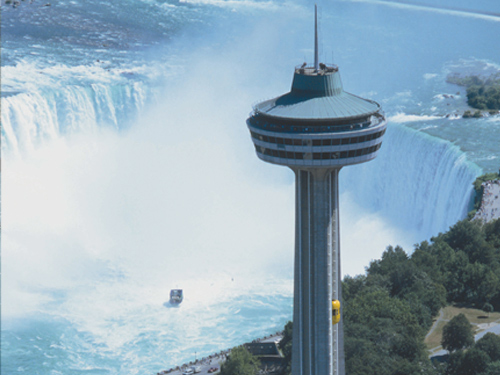 skylon tower view